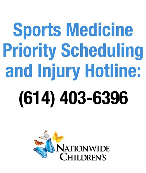 NCH SPORTS MEDICINE HOTLINE