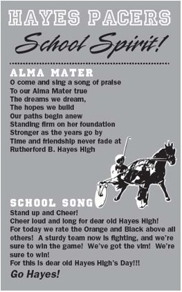 About Hayes Alma Mater Amp School Song